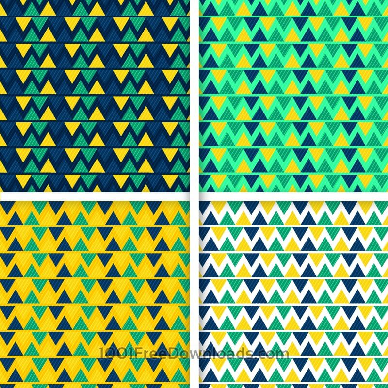 Free Creative vector seamless pattern