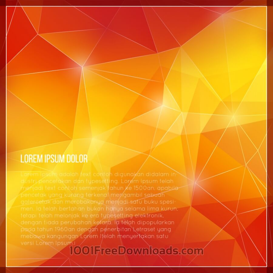 Free Vectors: Geometric background | Abstract