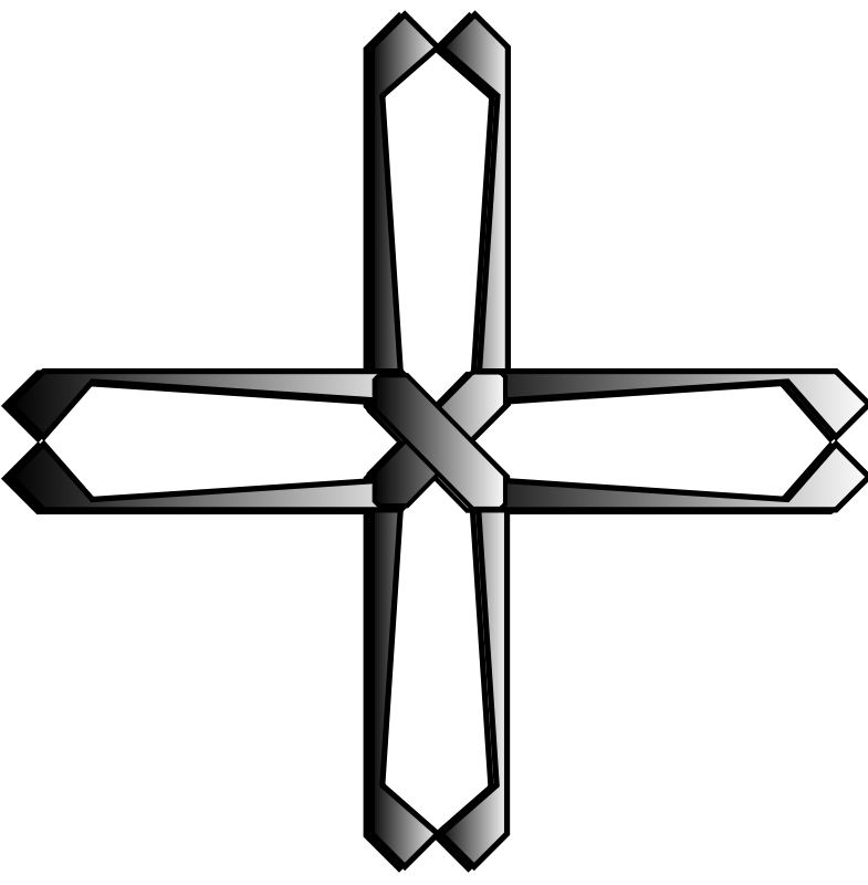 Free Clipart: Holy steel greek cross | Angelo_Gemmi