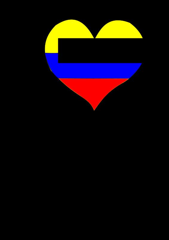 Free Colombia Corazón