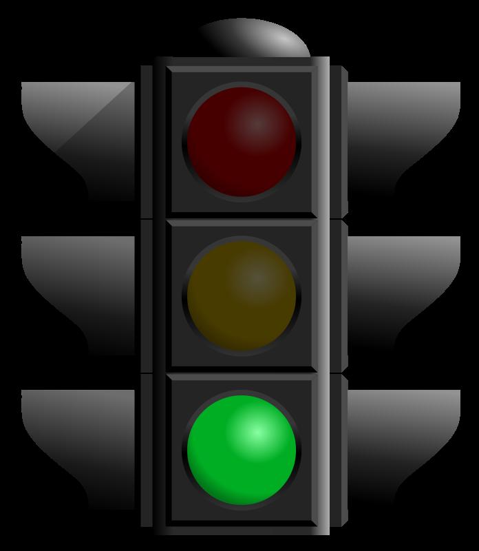 Free traffic light green dan  01
