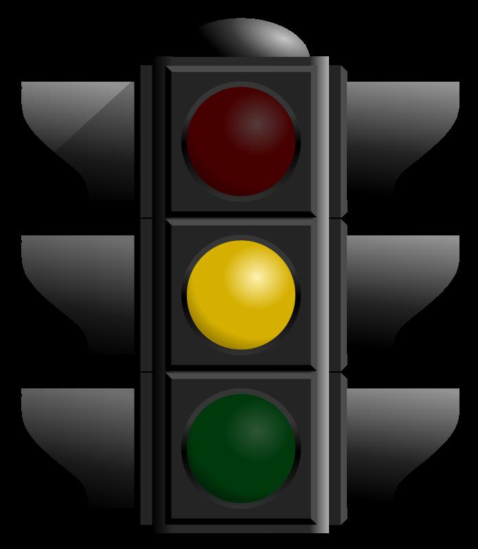 Free traffic light yellow dan 01