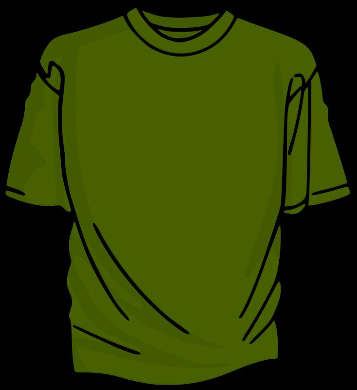 free clipart green 2 t shirt kuba rh 1001freedownloads com T-Shirt Design Template Clip Art free baseball clipart for t-shirts