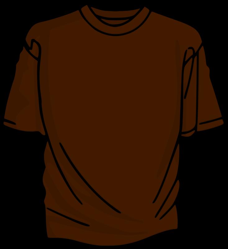 Free Brown T-Shirt
