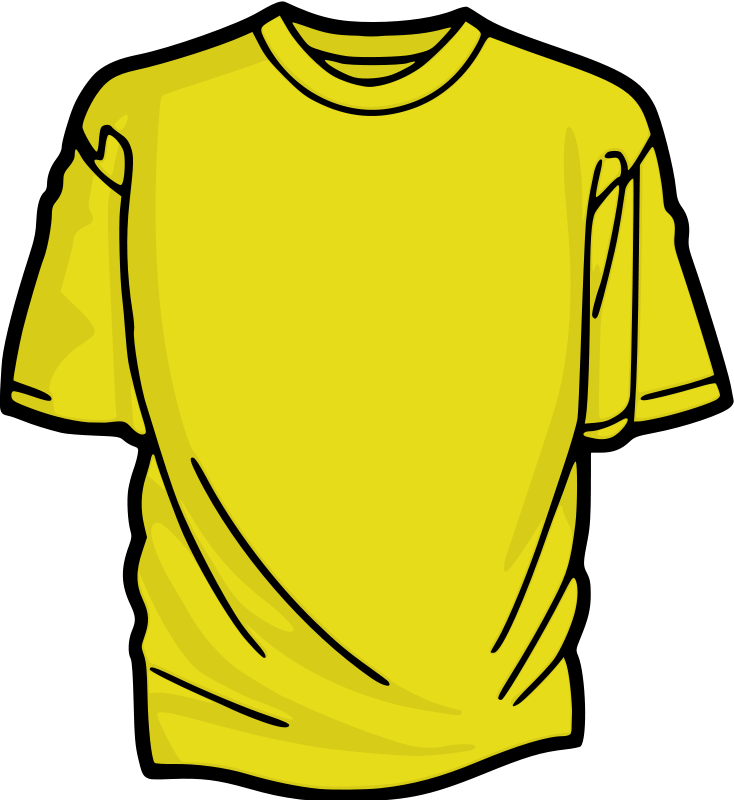 Free Yellow T-Shirt