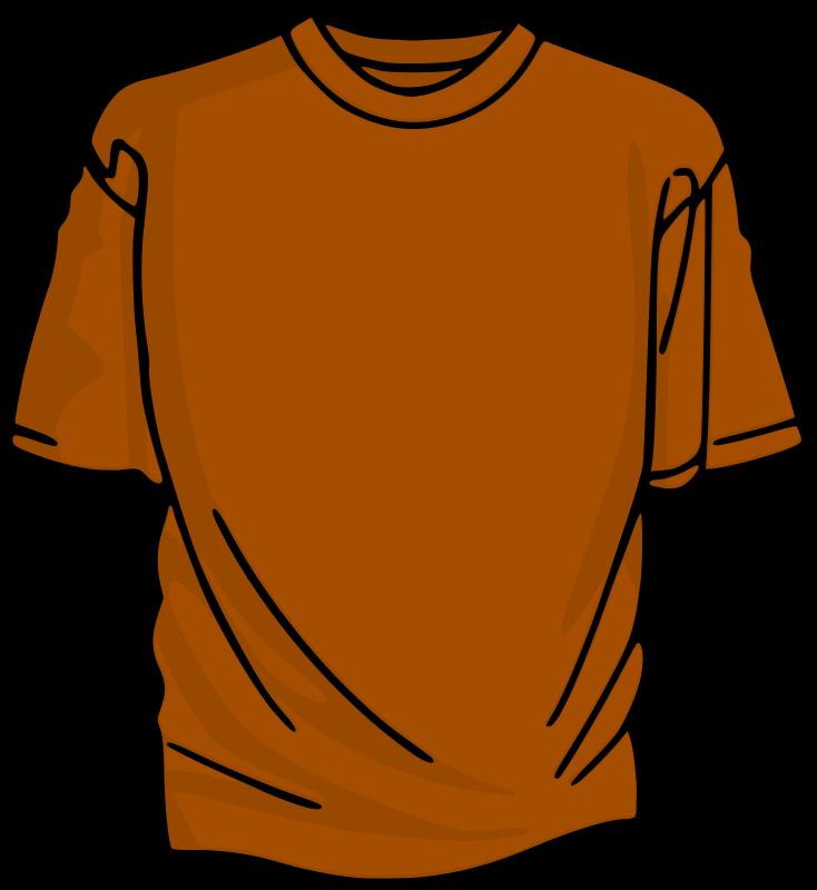 Free Orange T-Shirt