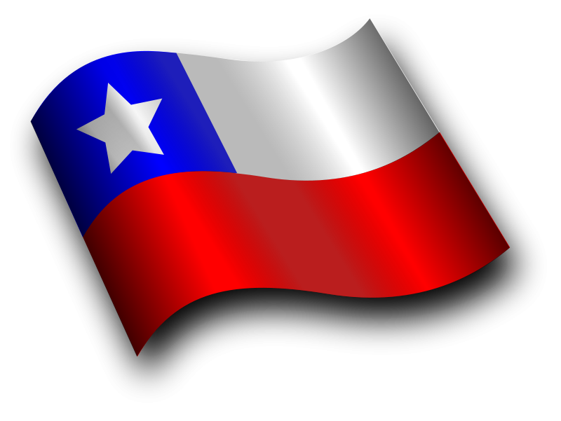 Free Clipart: Chilean Flag 3 | Merlin2525