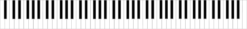 Free Standard 88-key Piano Keyboard