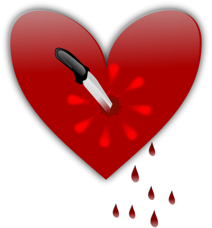 Free Clipart: Broken heart