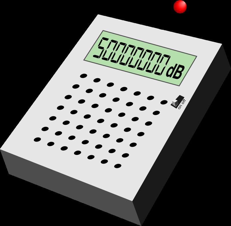Free Electronic decibel measurer