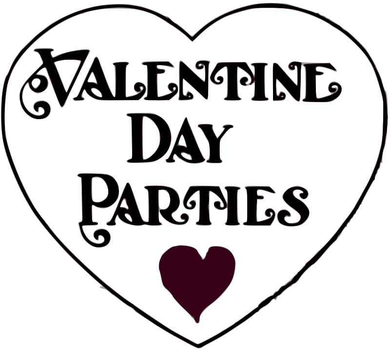 Free Valentine Day Parties - title