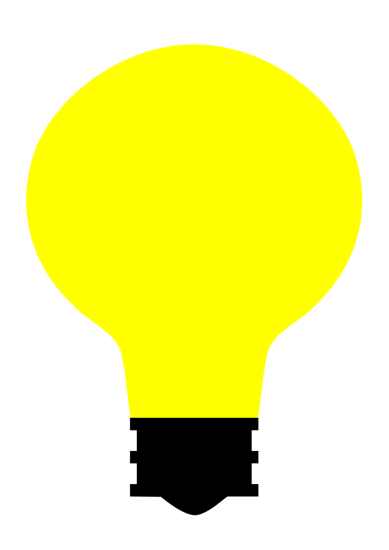 Free Simple Light Bulb