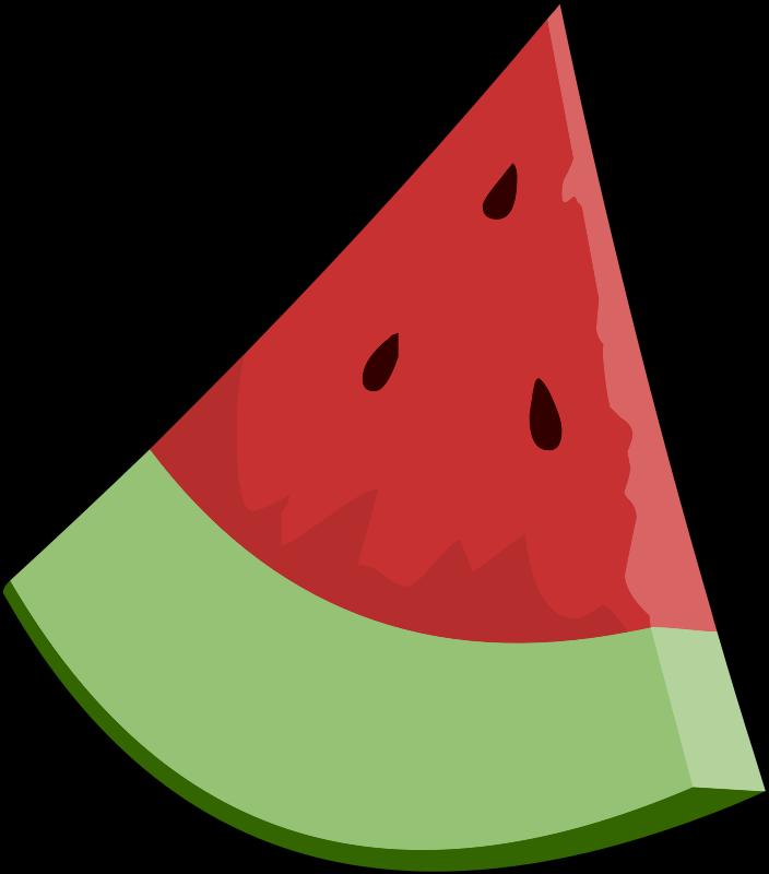 Free Watermelon Slice Wedge