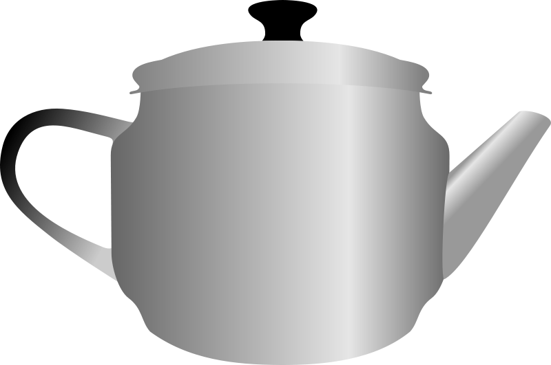 Free Clipart: Teapot by Rones | rones