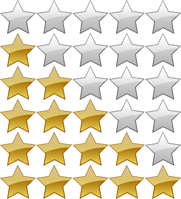 Free 5 Star Rating System