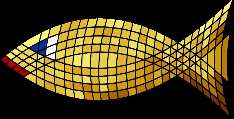 Free Tiled Gold Fish