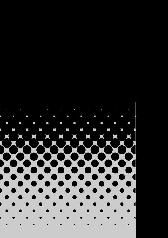 Free square gradient halftone