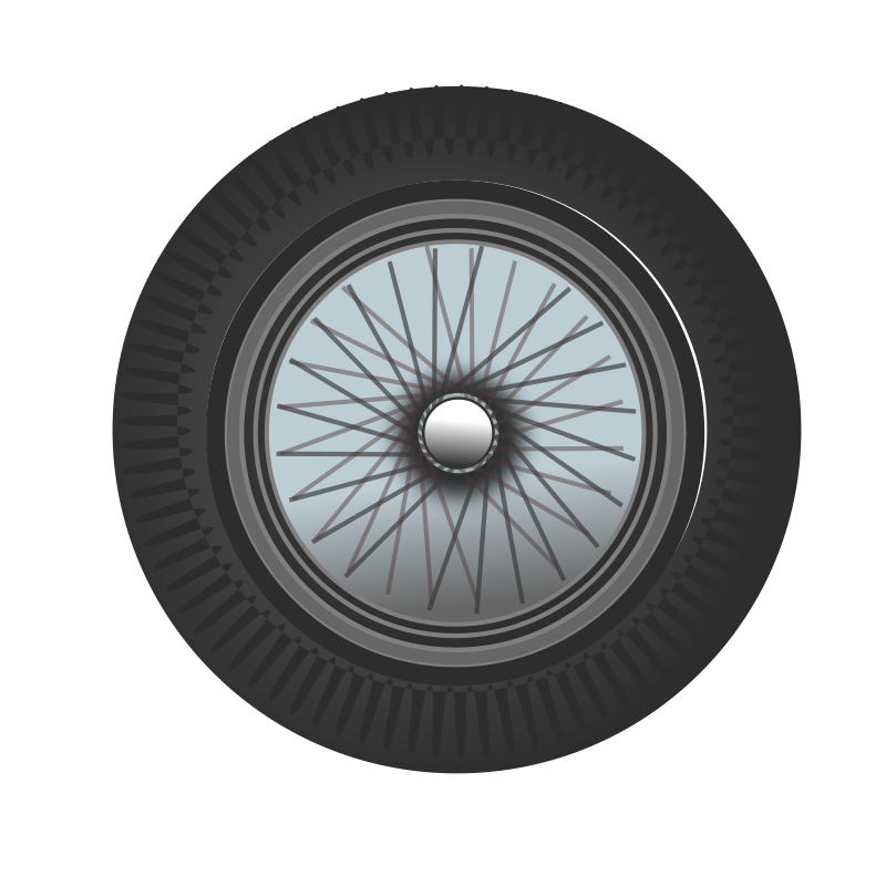 Free classic car wheel