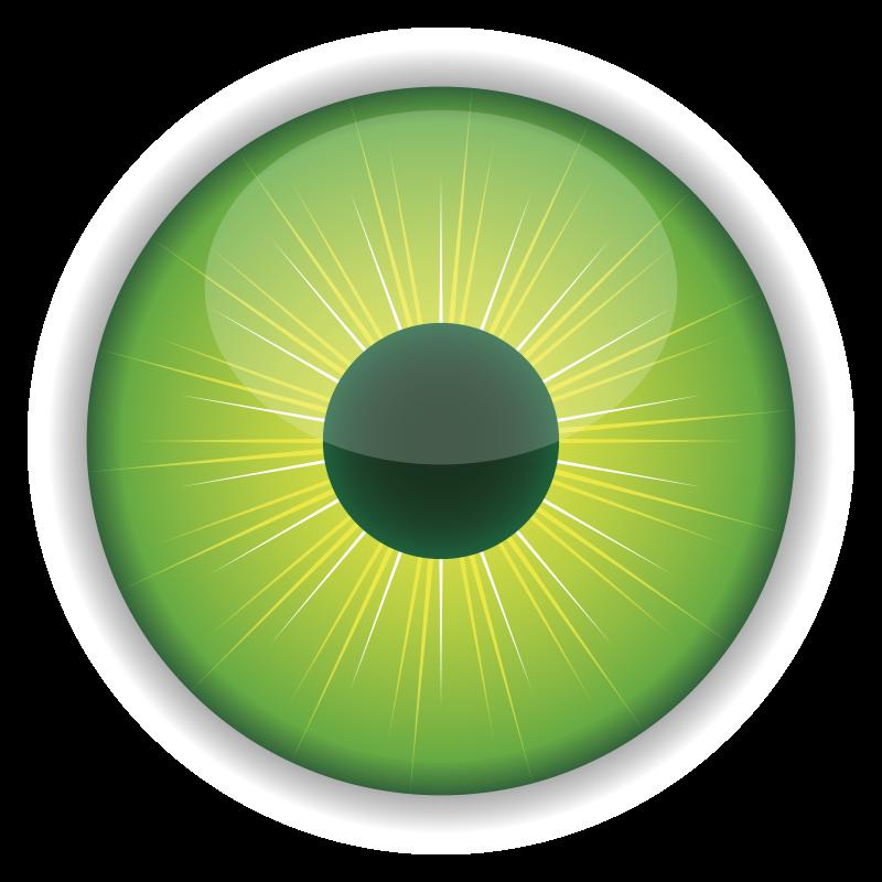 Free Green Eye