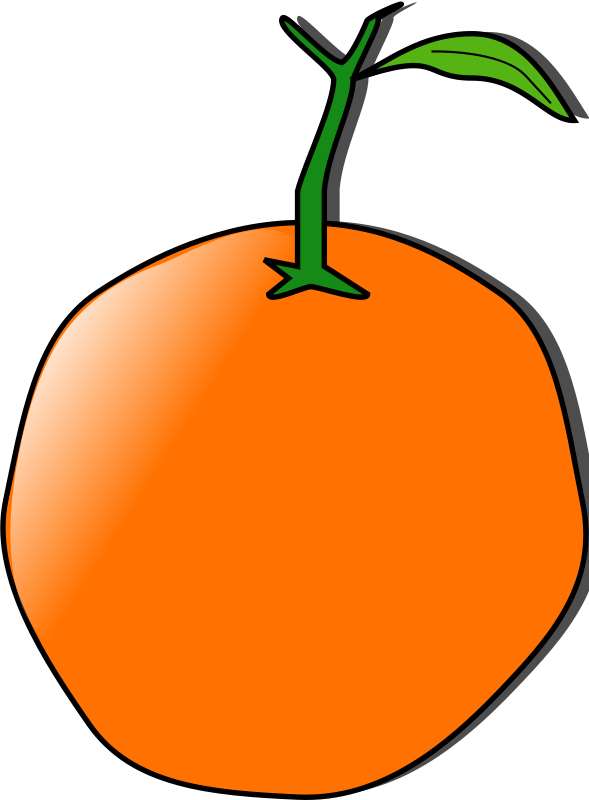 Free Clipart: Orange dave pena 01 | Anonymous