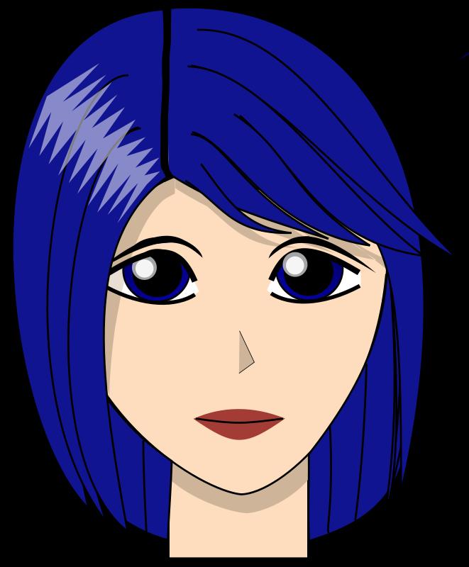 Free blue girl dirk struve