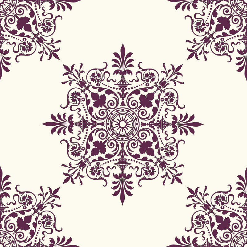Free Victorian Background Ornament 2