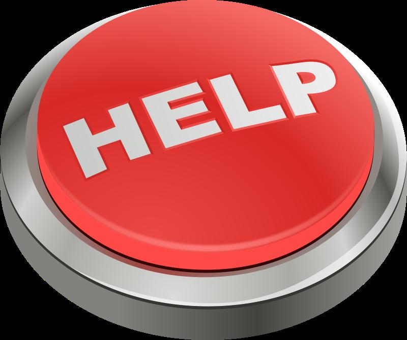 Free Clipart: Help button | jhnri4