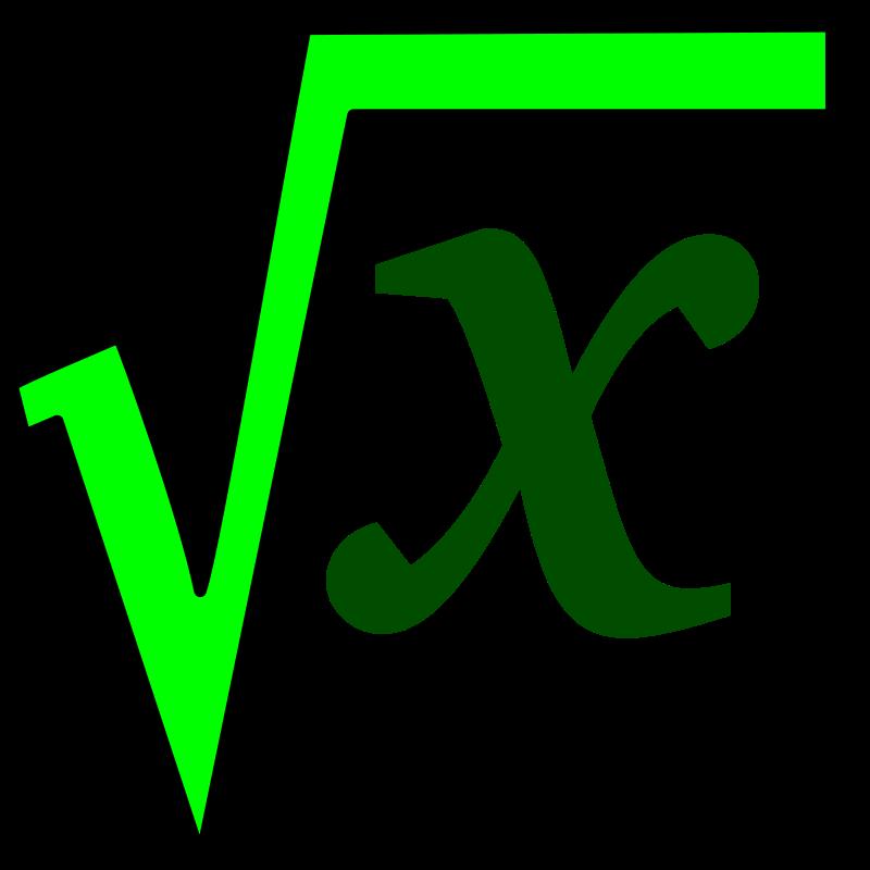 Free math sqrt