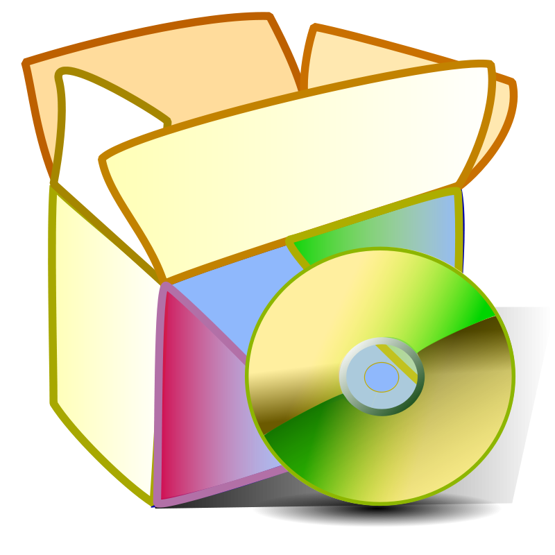 Free Clipart: Package applications | Anonymous