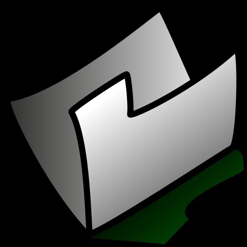 Free folder grey
