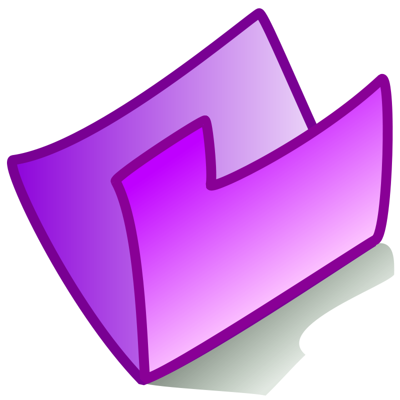 Free folder violet