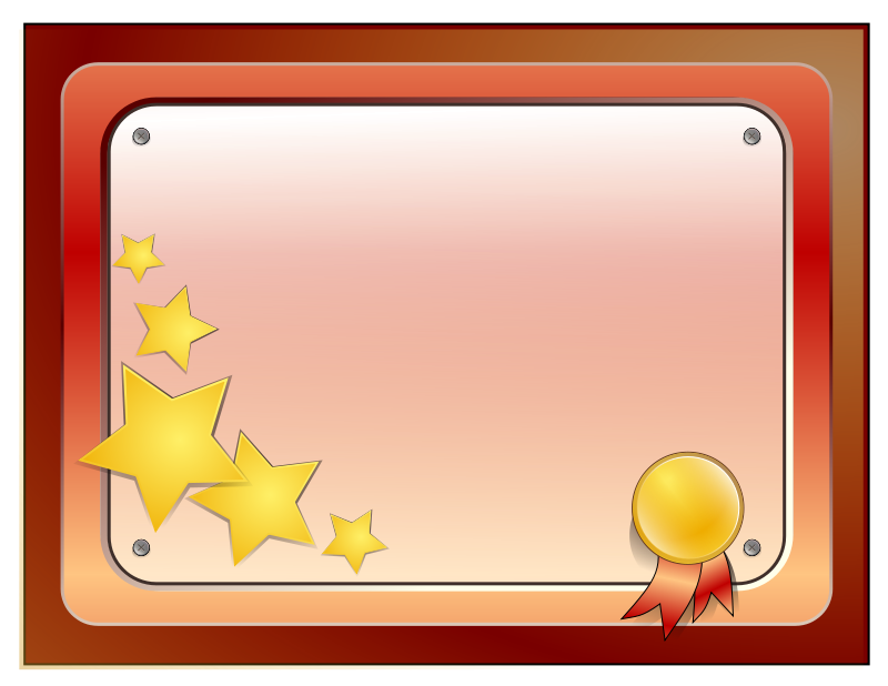 Free Clipart: Certificate 01 | Anonymous