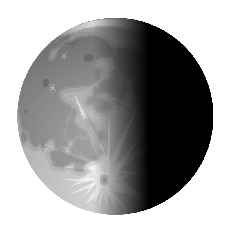 Free moon-half2