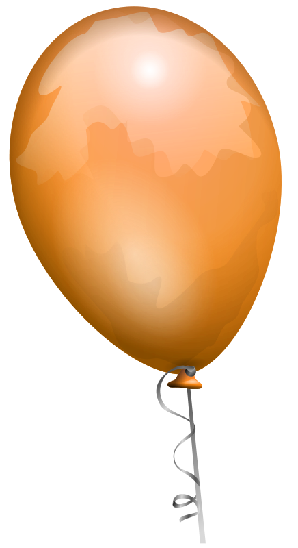 Free balloon-orange-aj