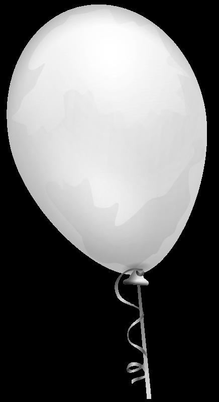 Free balloon-white-aj