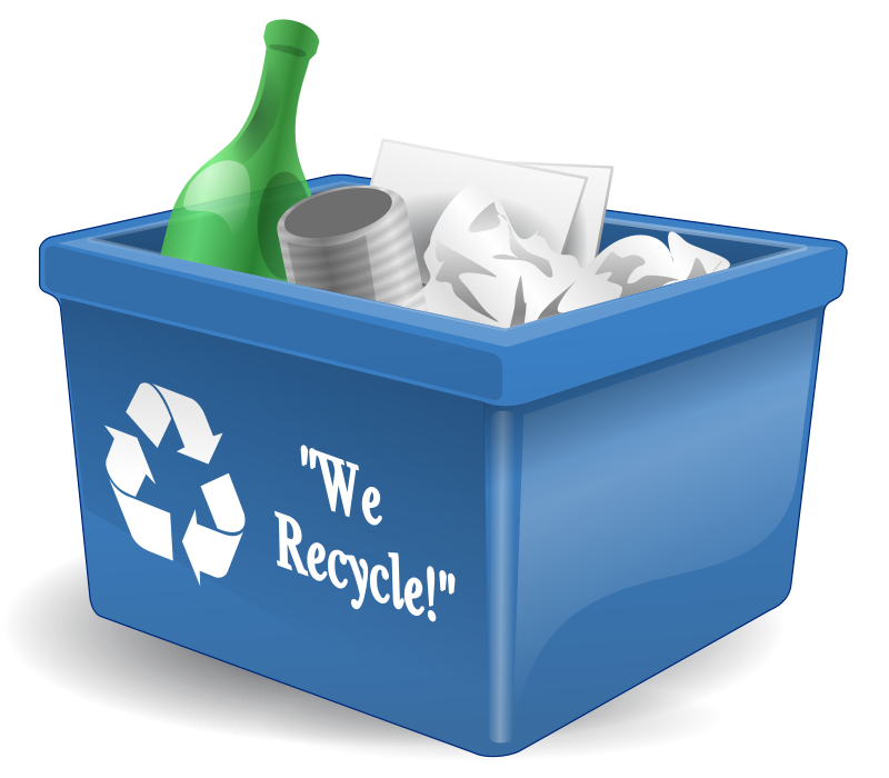Free Clipart: Recycling box 3d a.j. as 01 | Anonymous
