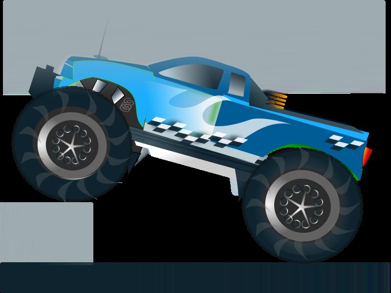 Free monster truck stunt