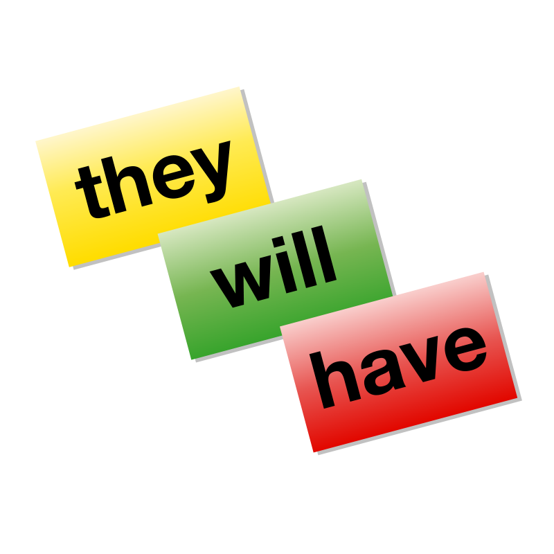 Free Colored Word Cards icon