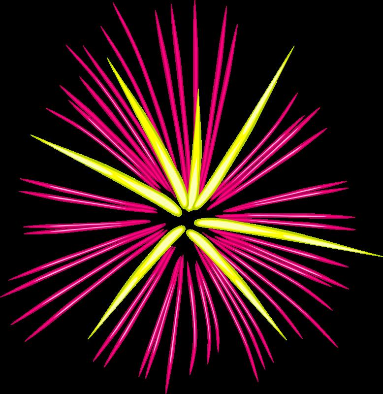 Free Pink Fireworks