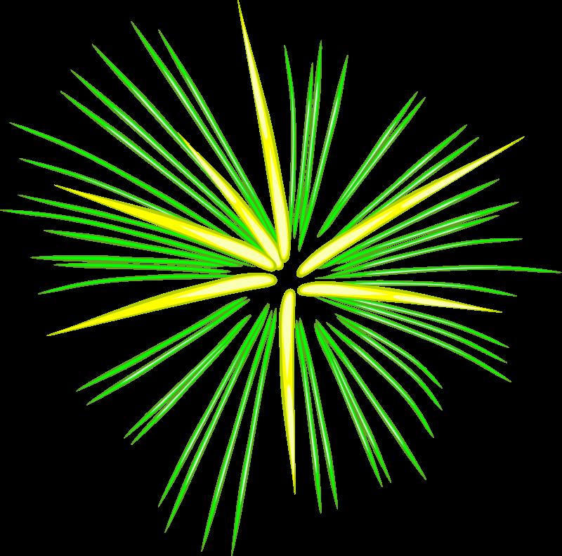 Free Green Fireworks