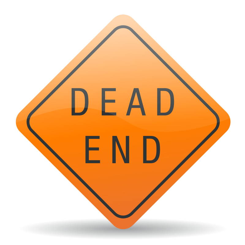Free Clipart: Dead end sign | jhnri4