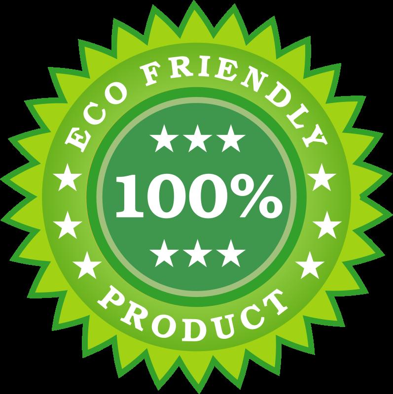 Free Eco Friendly Product Sticker