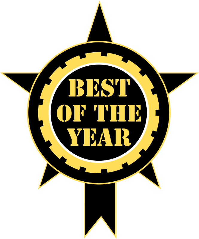 Free Best Of The Year Sticker