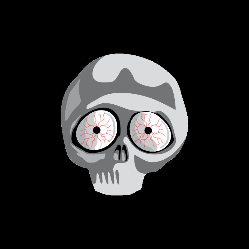 Free Clipart: Skull | 3Dline