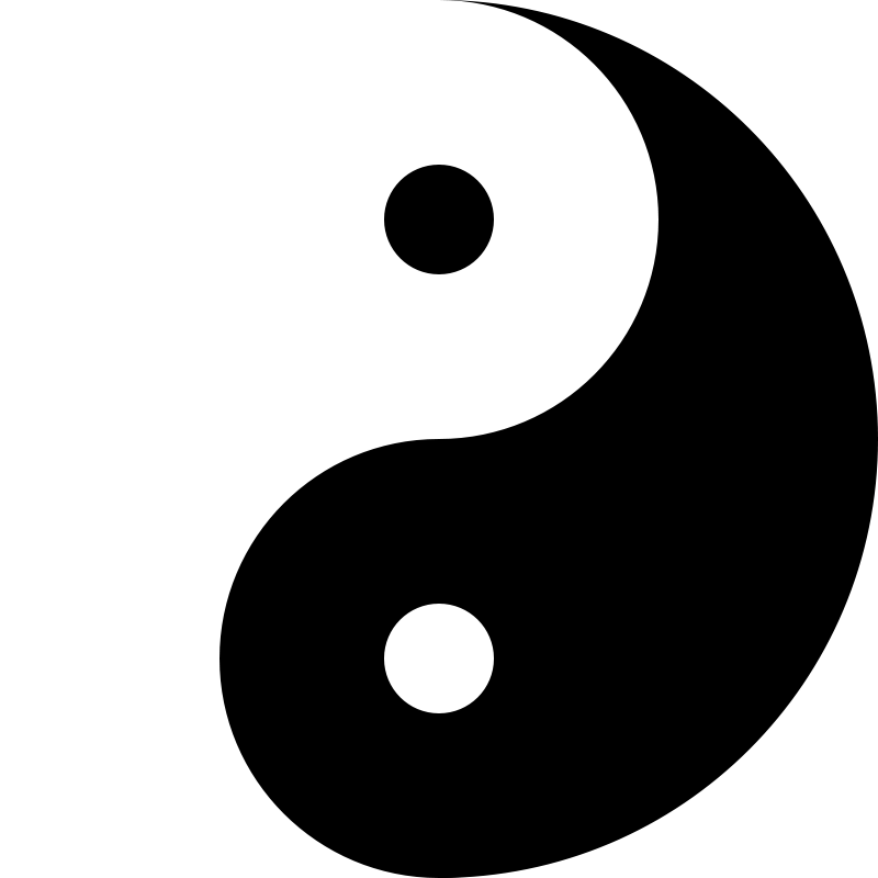 Free Clipart: Yinyang | 10binary