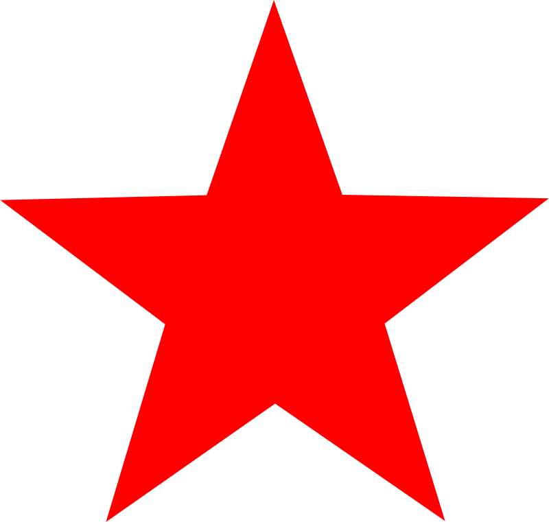 Free red star
