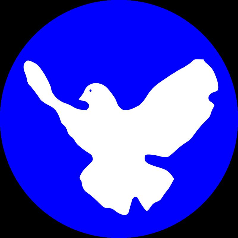 Free white dove