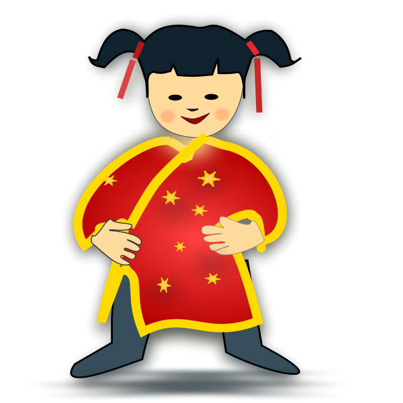 Free Clipart: Chinese girl icon | netalloy