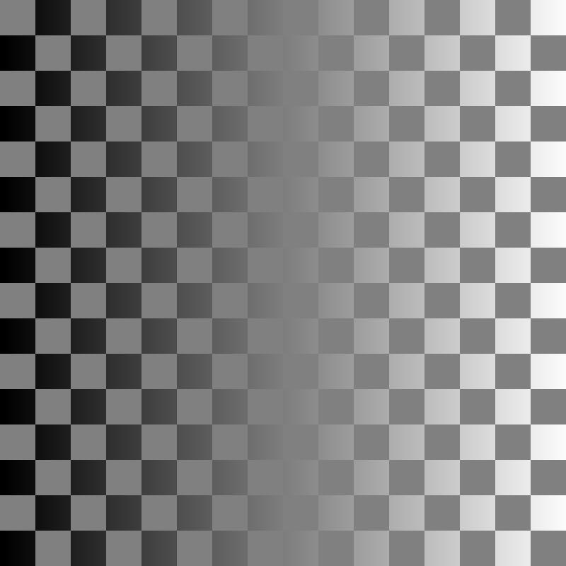 Free chessboard-illusion