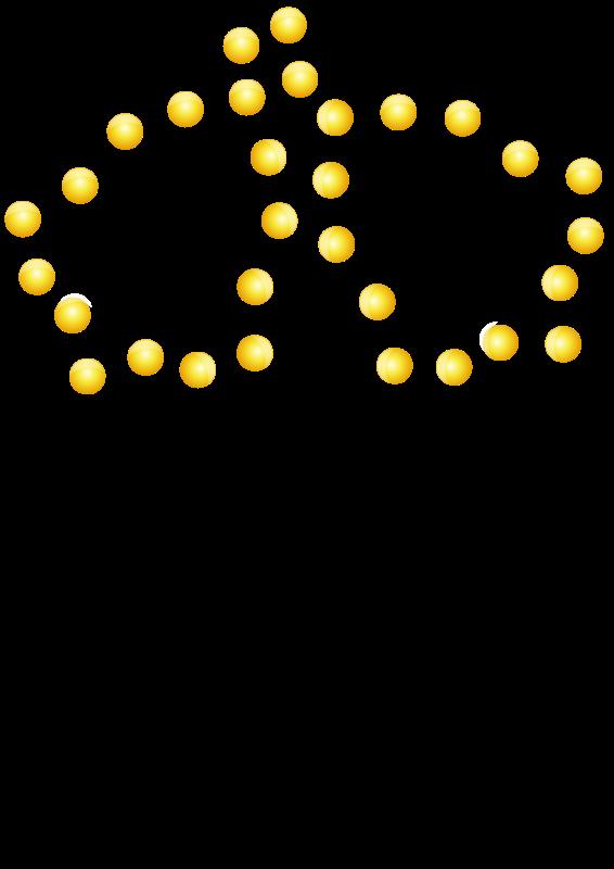 Free Christmas Bells in Lights